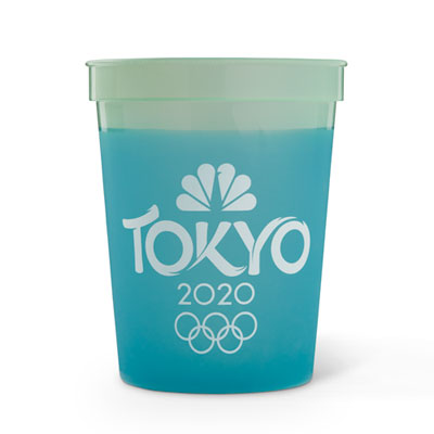 Tokyo 2020 Cool Color Changing Cup (Set of 10)