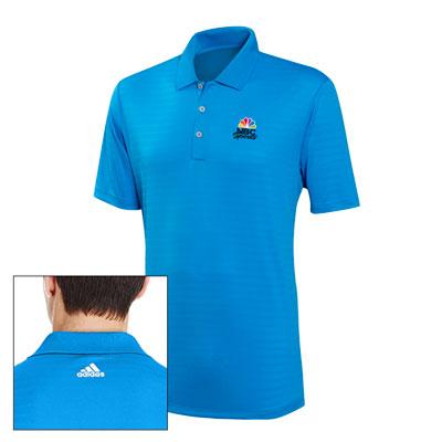 NBC Sports Adidas® Men's Micro-stripe Polo