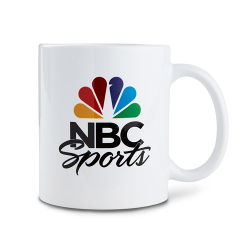 NBC Sports White Ceramic Mug
