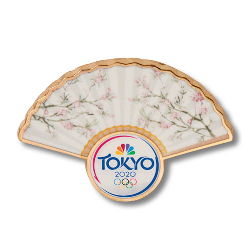 Sakura Fan Pin