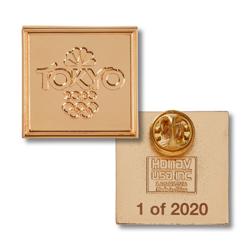 Tokyo 2020 Exclusive Gold Pin
