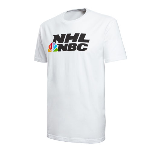 NHL on NBC White Tee