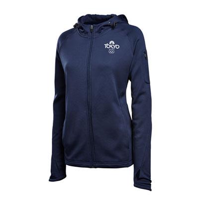 Tokyo 2020 Ladies Sport-Tek Full Zip Hooded Jacket