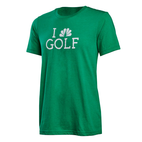 I Peacock Golf Tee
