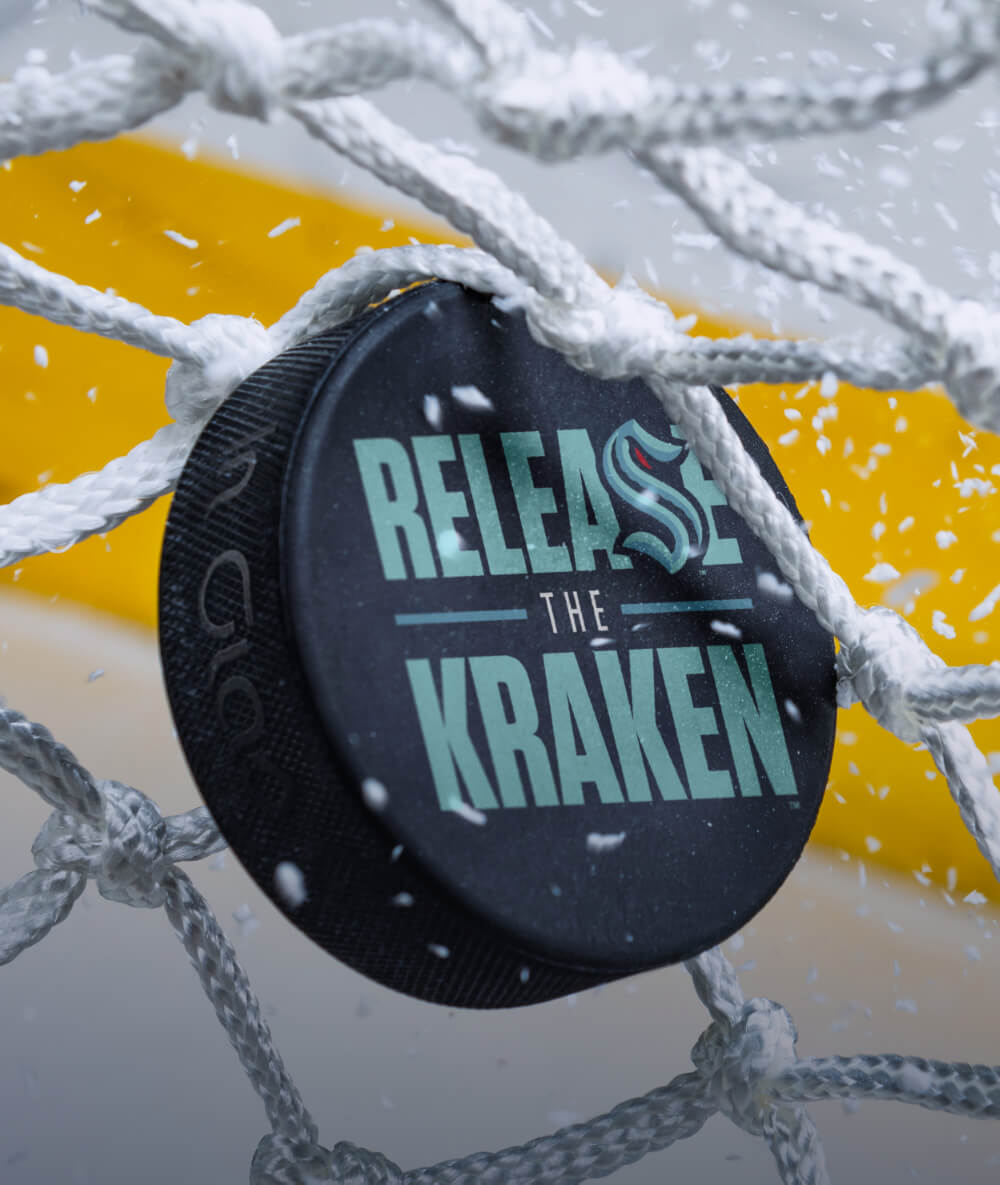 Release the Kraken Officially Licensed Puck