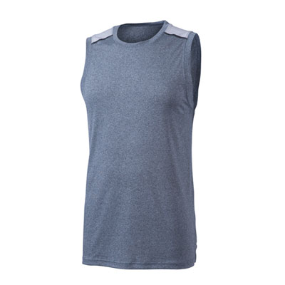 Colorblock Tank- Dark Grey