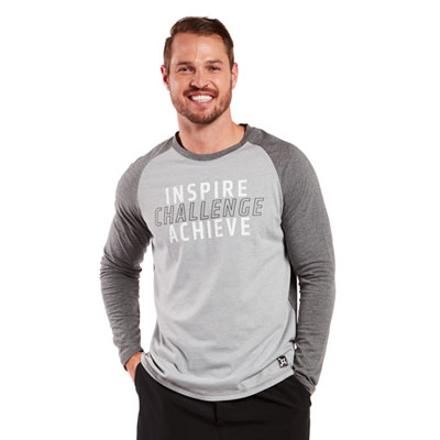 Inspire Long Sleeve Raglan Tee