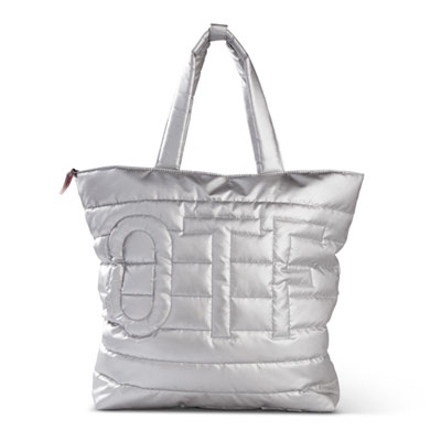 QUILTED OTF TOTE
