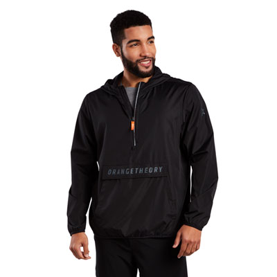 Hooded Half-Zip Sport Anorak