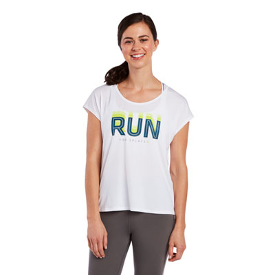 Run Slit Back Tee