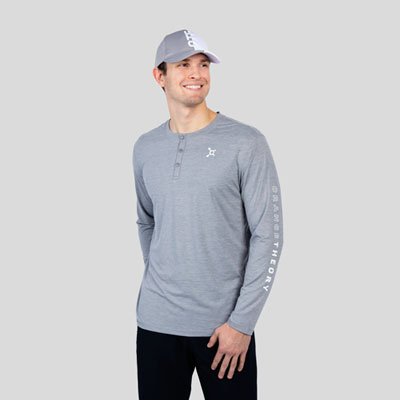 Long Sleeve Performance Henley
