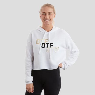 OTF Crop Hoodie