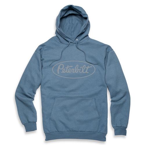 Steel Blue Pullover Hoodie
