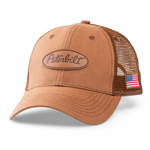 Duck Canvas Mesh Flag Hat