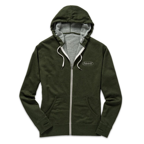 Ladies' Heathered French Terry Hoodie