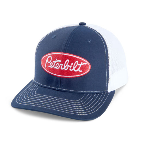 Richardson Mesh Trucker Hat – Navy/White