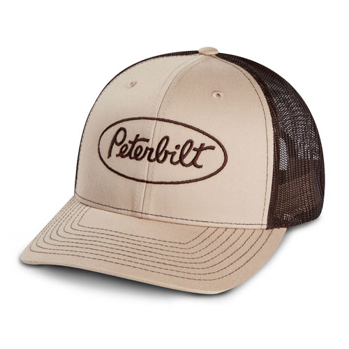 Richardson Mesh Trucker Hat – Khaki/Coffee