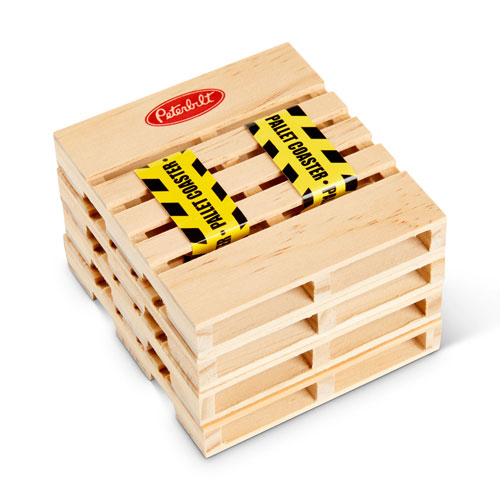 Pallet Coasters (Set of 4)