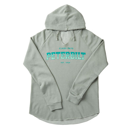 Ladies' Washed Hooded Shirt