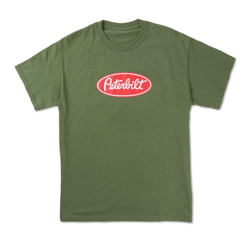 Peterbilt Military Green T-shirt