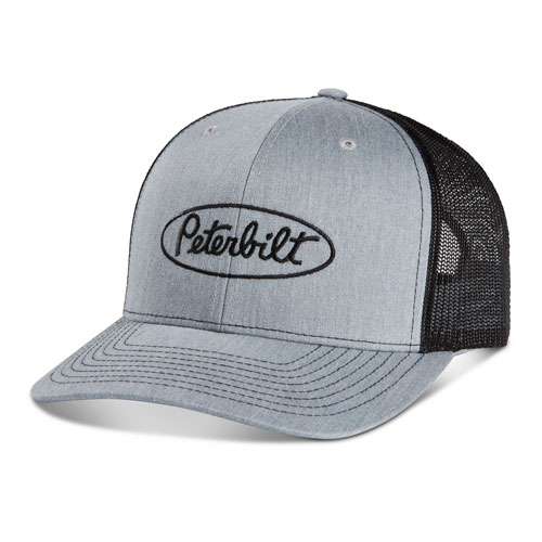 Richardson Mesh Cap - Heather Grey/Black