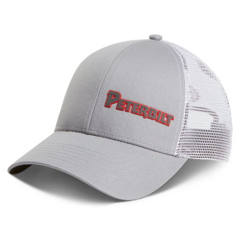Rubber Patch Mesh Cap