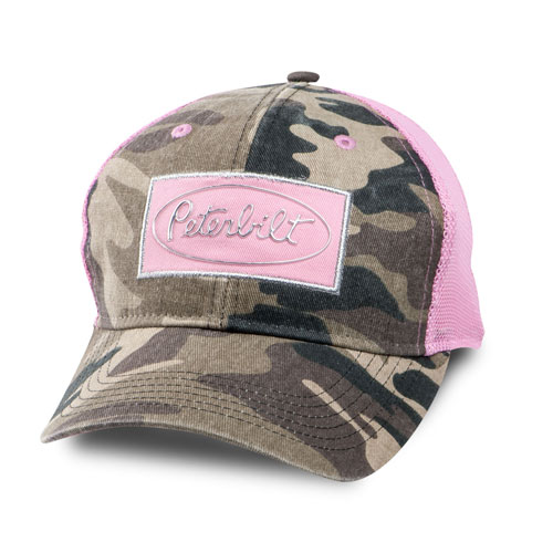 Ladies' Camo Mesh Cap