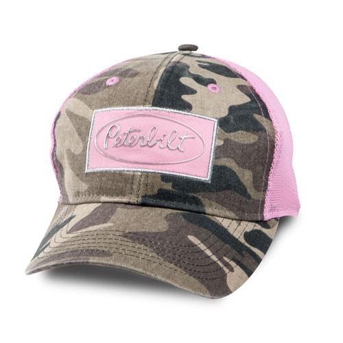 Pink and Camo Mesh Cap
