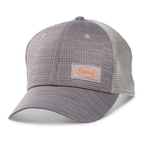 Grey Performance Mesh-Back Structured Hat