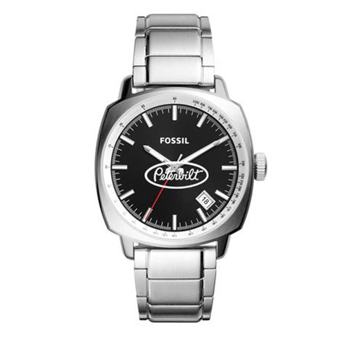 Men's Silver Fossil Haywood Watch with Silver Logo