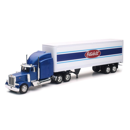 1:32 Blue Peterbilt 379 Toy Truck