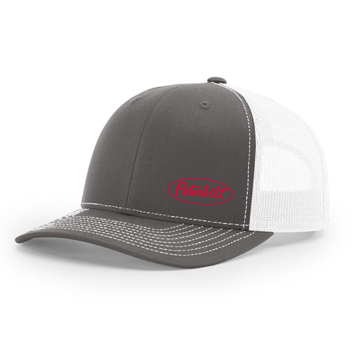 Richardson Classic Trucker Hat Charcoal White