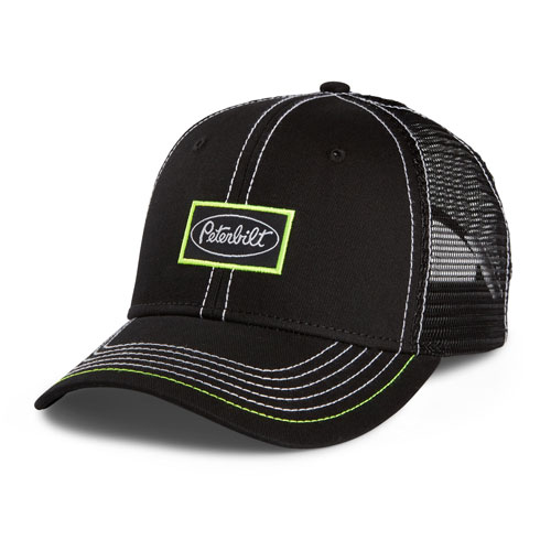 Mesh Cap with Neon Yellow Accents