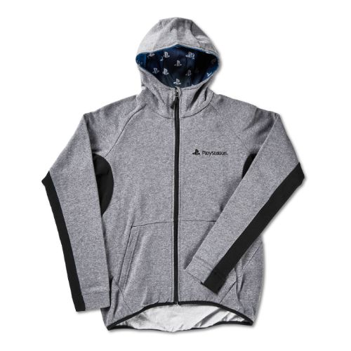 Ladies Gray Matrix Hoodie