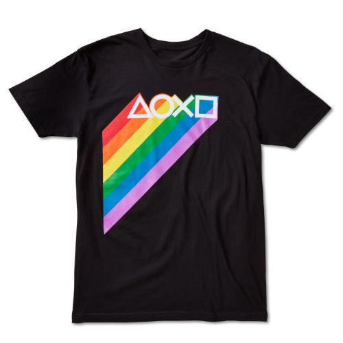 Rainbow Symbols Tee