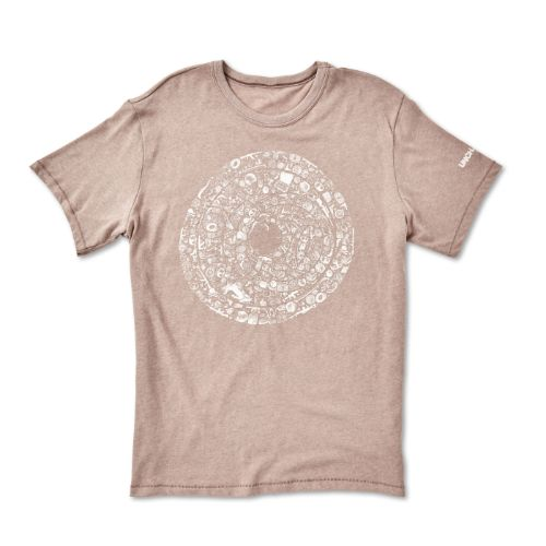 Uncharted 3 Cipher Disk Tee