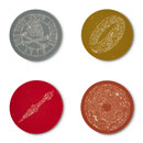 Uncharted Artifacts Coasters - Set of 4
