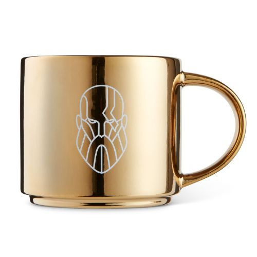 Monoline Design Kratos Metallic Mug
