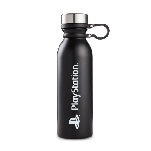 Black Logo Water Bottle