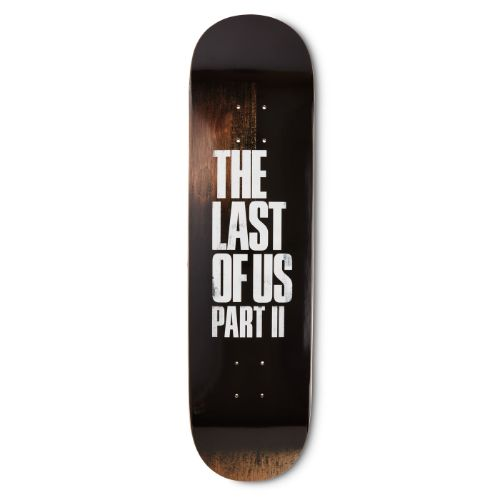 The Last of Us Part II Logo Skateboard