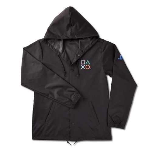 Symbols Hooded Rain Jacket