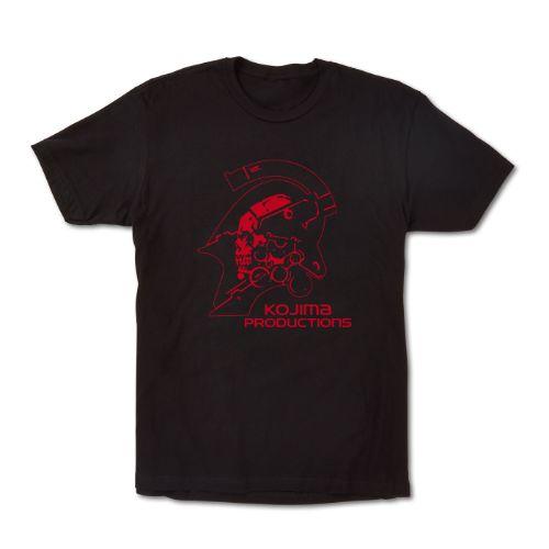 Kojima Productions Logo Tee - Red Variant