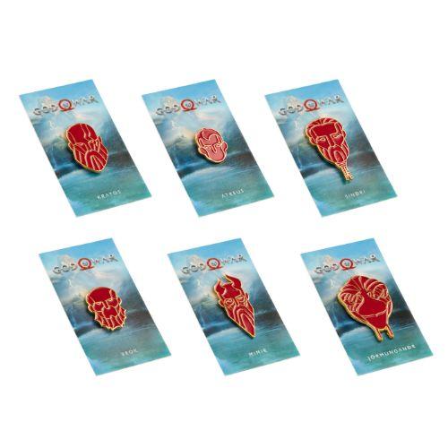 God of War Anniversary Pin Set 1 - Limited Edition