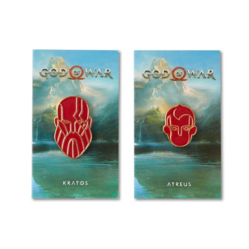 God of War Pin Set - Kratos and Atreus