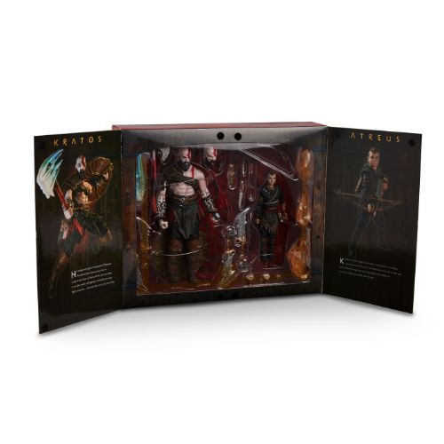 God of War Ultimate Kratos and Atreus Action Figure Set