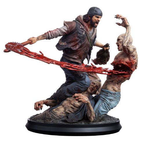 Days Gone Deacon VS Freakers Statue