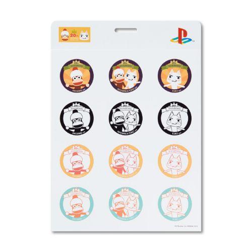 Ape Escape X Doko Demo Issyo 20th Anniversary Sticker Set