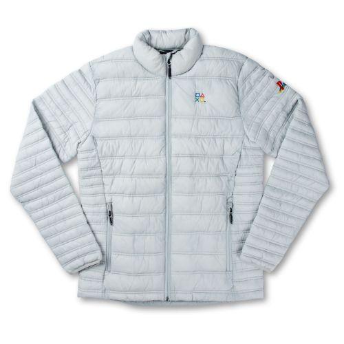 Men's Gray Puffer Jacket