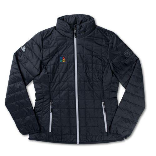 Ladies' Black Puffer Jacket