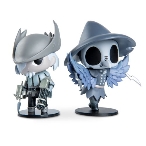 Bloodborne Djura & Eileen the Crow Figures Set